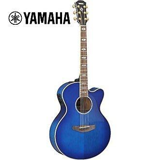 絕地音樂樂器中心 YAMAHA CPX1000 ULTRAMARINE 電民謠吉他 青色