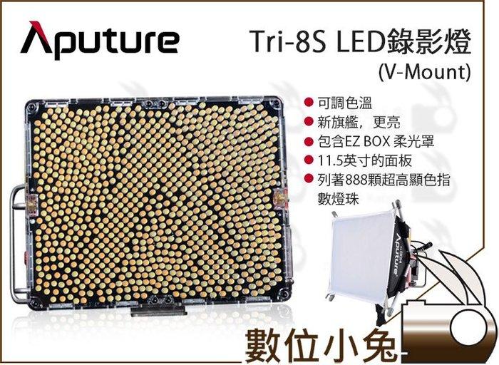 數位小兔【Aputure 愛圖仕 Tri-8S V-Mount 可調色溫 LED錄影燈】公司貨 補光燈 LED燈 攝影燈