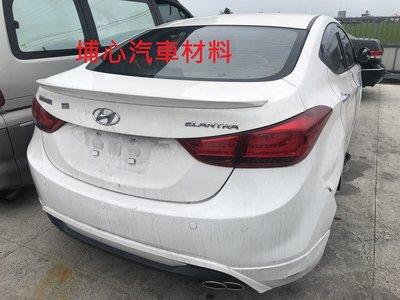 埔心汽車材料 報廢車 現代 HYUNDAI ELANTRA 2012 零件車 拆賣