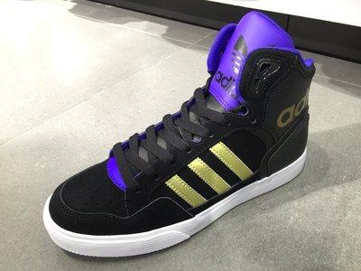 ☆ Tsu ☆ ADIDAS ORIGINALS EXTABALL W 黑金 紫 皮革 跳舞鞋 大鞋舌 女鞋M19460