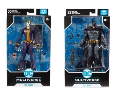 全新 Mcfarlane Toys DC Multiverse Batman 蝙蝠俠 Joker 小丑 2款