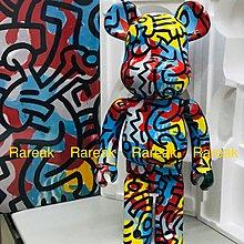 Medicom Bearbrick 2018 Keith Haring 1000% version 3 D-con be@rbrick 1 隻