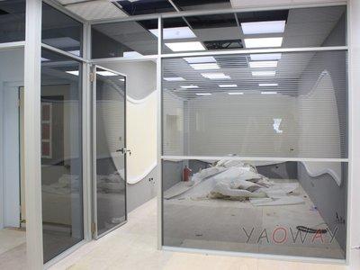 【耀偉】鋁框高隔間 (辦公桌/辦公屏風-規劃施工-拆組搬遷工程-組合隔間-水電網路)16