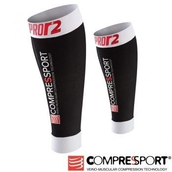 【線上體育】COMPRESPPORT  CS-Pro Swiss小腿套 黑