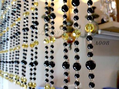 A008 水晶珠簾 門簾 大器奢華 台製手工水晶珠簾 風水水晶門簾 化煞水晶簾