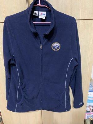 Majestic藍色夾克(L)肩16胸19長27袖23九成新(花564)