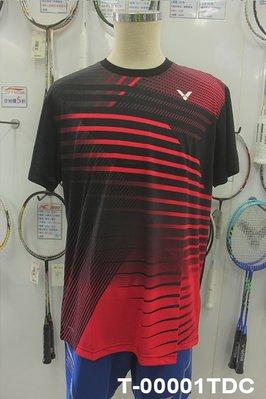 (台同運動活力館) VICTOR 勝利【馬來西亞隊】【推廣版】推廣服 排汗衫T-00001TDC