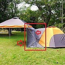 噴火龍客廳帳(3M*3M直角)與前庭式帳篷 - 專用連結布/通道 ※噴火龍270、300型、夢想家280、白龍王皆可通用