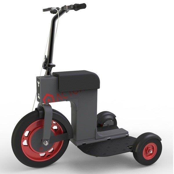5Cgo【批發】含稅會員有優惠 阿克頓 ACTON 滑板車小飛車三輪折疊電動車代步平衡車輕便電動三輪車老人車賽格威