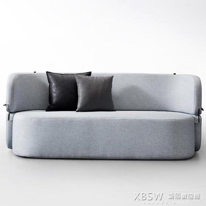 【全場免運】沙發床沙發床可折疊客廳雙人三人小戶型多功能簡約現代兩用省空間可變床~逸居生活館