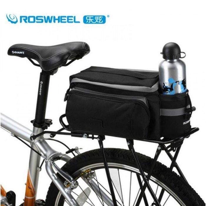 樂炫自行車包騎行包裝備包后貨架包后包山地車馱包后座尾包駝包