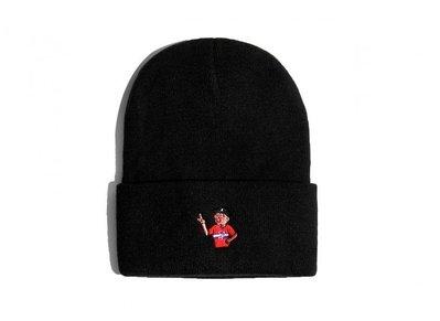 { POISON } LESS x POLITO P-WING MAGOO BEANIE 刺繡毛帽 CLEOFUS