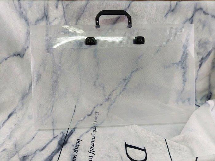 【♥豪美包材♥】PP斜紋DIY手提盒-編號A0594-尺寸51.5x3.2x31.8cm-單個賣場