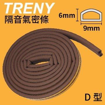 【TRENY直營】隔音氣密條(2L) 2.5米-棕 D0906 快速填縫 隔絕風沙灰塵 加強隔音HD-H-36C-1