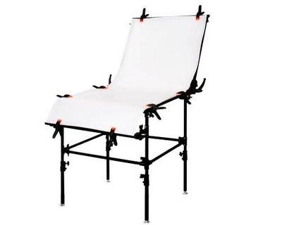 【凱西影視器材】GODOX FPT-60 PVC板 60X130cm 攜帶型快速摺合攝影台 拍攝台