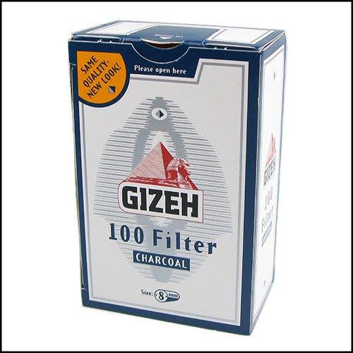 ~哈洛德小舖~~GIZEH~德國 ~8mm活性碳濾嘴~100粒裝~2盒
