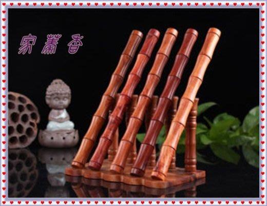 【家蓁香茶坊】越南花梨木竹節香管10克裝紅木線香管 木質 存儲沉香 檀香 香管