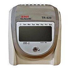 *福利舍* KOJI TR-920 微電腦LCD打卡鐘(含稅)請先詢問再下標