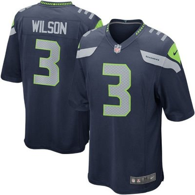 Seattle Seahawks Russell Wilson Game Jersey