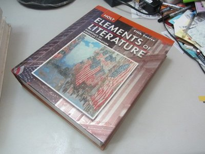 Elements of Literature, Course 5》ISBN:0030424186(A2-2櫃)