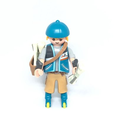 Playmobil Series 13 摩比 人仔(全新但已拆袋)Newspaper Boy