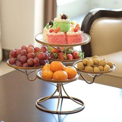 網紅水果盤客廳創意家用果盤茶幾糖果盤歐...
