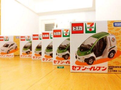 南◇現 TOMICA 7-11限定 玩具車 多美 日本 7-11 限定 企業車 配送車 營業車
