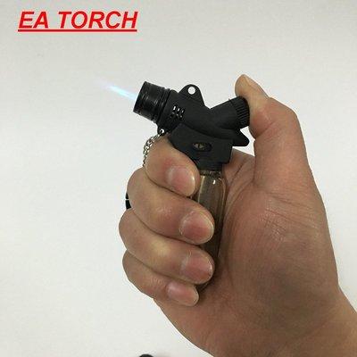 瓦斯打火機 戶外便攜透明小焊槍 直沖防風打火機 雪茄艾條大沖燈登山升火釣魚