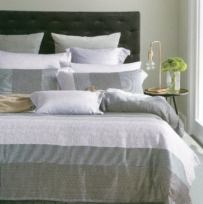 【Jenny Silk名床】麻趣部落.灰色.100%天絲.標準雙人床罩組