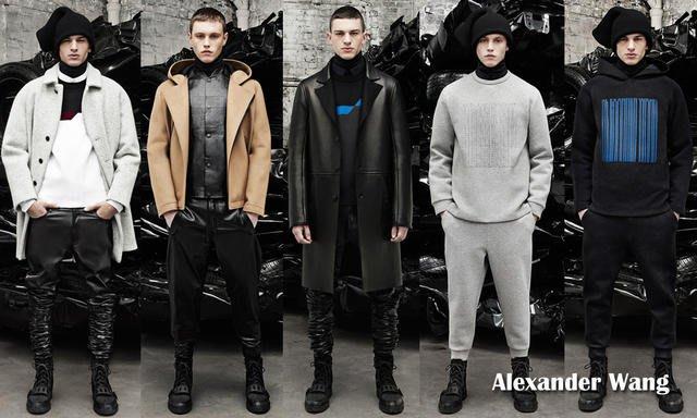 原價20萬 Alexander Wang 王大仁 亞歷山大·王 秀款黑色厚棉拼接真皮飛行外套