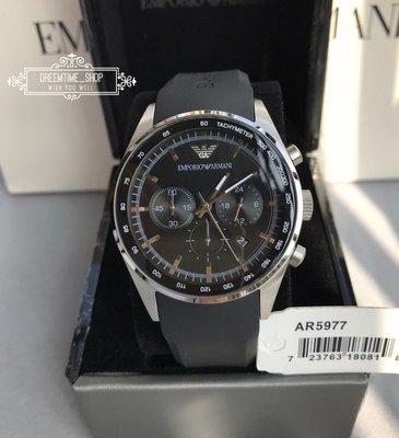 AR5977 EMPORIO ARMANI SPORT 運動系列三眼計時 橡膠錶帶 潮流時尚款 石英 男女 手錶43mm 高雄市