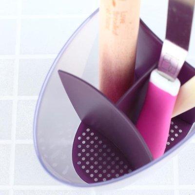 全館超增點大放送簡約廚房家用筷子筒多功能塑料湯勺架子筷子盒創意筷籠瀝水筷子籠