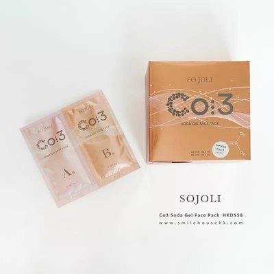 日 本 典 堂 級 So Joli CO3 MASK 初 生 注 氧 面 膜 。