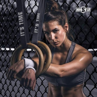 吊環成人體操訓練引體向上室內家用健身運動器材頸脊腰椎牽引全館
