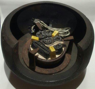 日本茶道具 面取風爐+野々田式風炉型 炭型電熱器