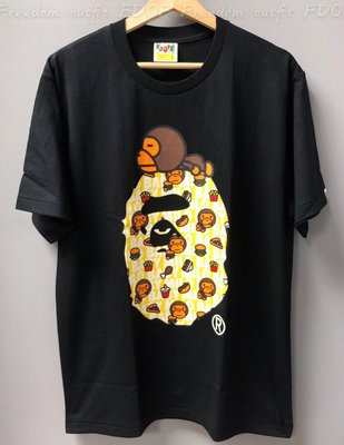 [FDOF] MILO JUNK FOOD MILO ON BIG APE TEE 趴著MILO大猿人短TEE