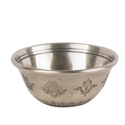 hello小店-印度青銅圣水杯 八吉祥雕花供水碗供佛杯 供佛碗 直徑7cm#供水杯#果盤#