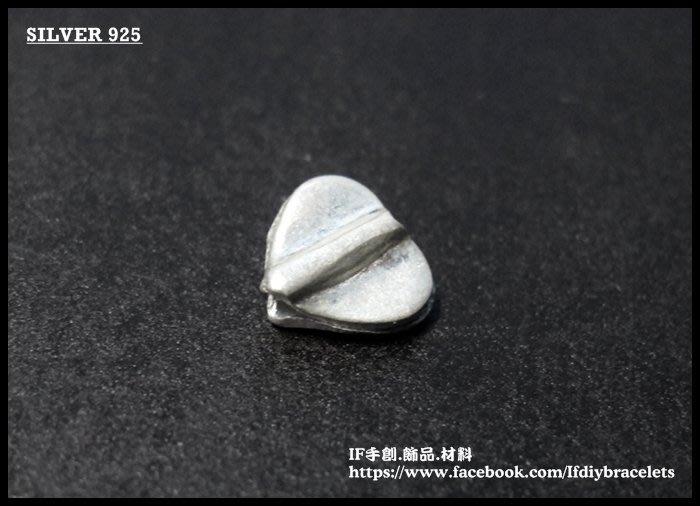 進口 泰銀 950 純銀 TCM0169 手工銀 立體愛心連結 連接 飾品 配件 手創 DIY 手鍊 蠟線