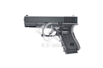 【武莊】WG UMAREX GLOCK 19 / G19 授權刻字 金屬滑套 6MM CO2直壓槍-WGCSG19