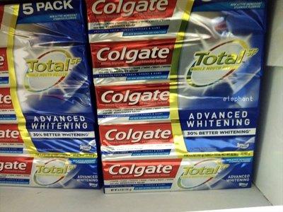 好市多 高露潔 全效深層淨化潔白牙膏(181gx5入)