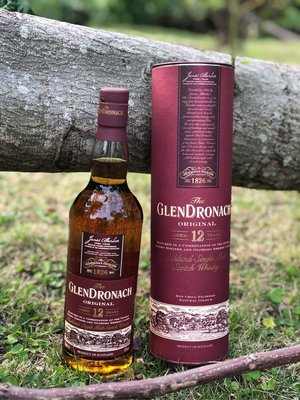 Glendronach 12 single malt whiskey