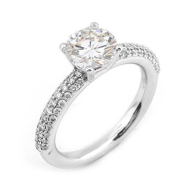 【JHT 金宏總珠寶/GIA鑽石專賣】1.505ct天然鑽石戒指/材質:18K(D000044)