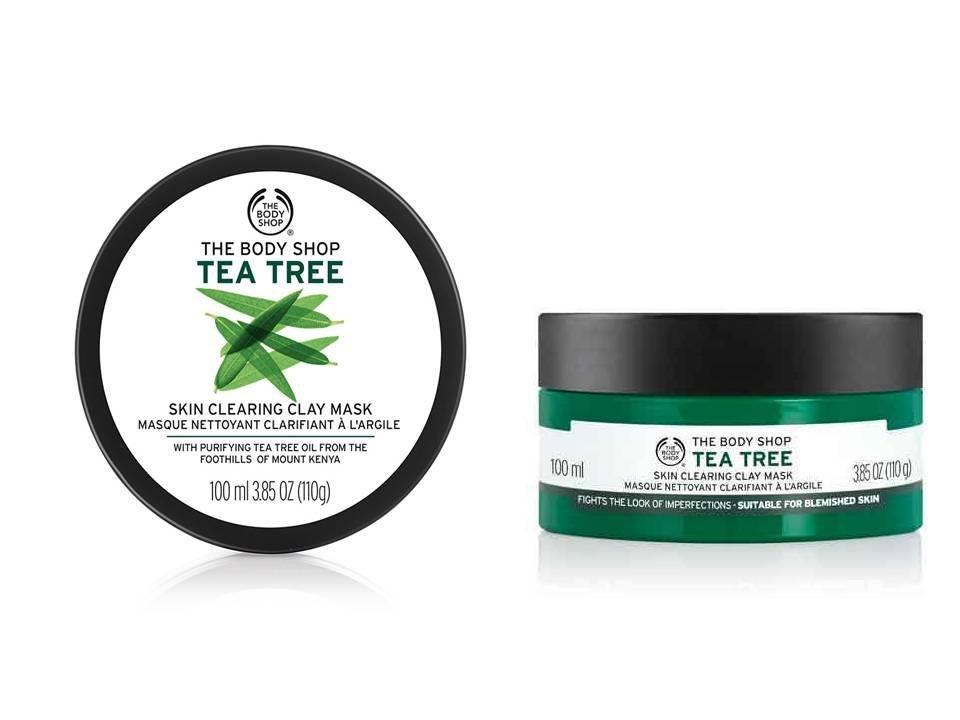 【羅迪歐】The Body Shop 美體小舖 茶樹淨膚調理面膜 100ml  (有效期 2022/08)