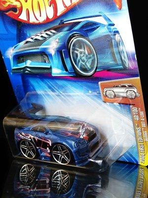 風火輪 HOT WHEELS 040 BLINGS OUT A LINE B3535 天富玩具店