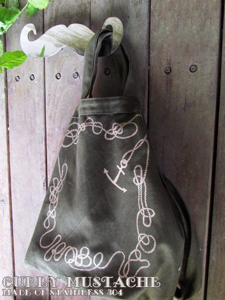 ☆成志金屬☆精品*不鏽鋼鬍子壁飾、壁貼,掛鉤,可掛包包、當衣物架、帽架,掛勾