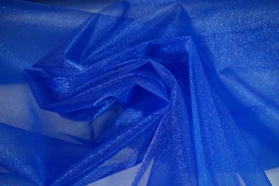 ~ 地帶~寶藍色亮面雪紗網10尺100元~.做禮服.婚禮佈置.頭紗.窗紗 150~300公分 ~