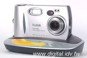 KODAK DX3900 變焦數位相機(可議)送相機底座.KODAK原廠皮套~可收藏