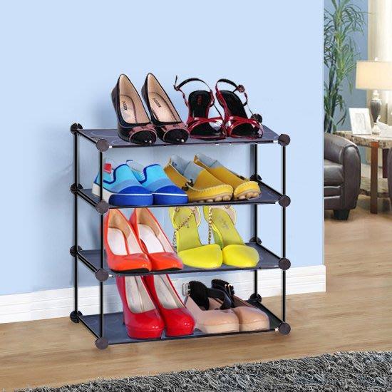 鞋架 聖若瑞斯簡易多層鐵藝組合折疊鞋架家用防塵迷你宿舍收納鞋櫃