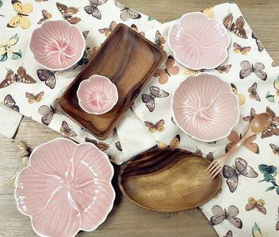 瓷器量販少女心花朵盤冰裂釉醬料碟 小菜碟 首飾收納 8.5cm碟 3入組