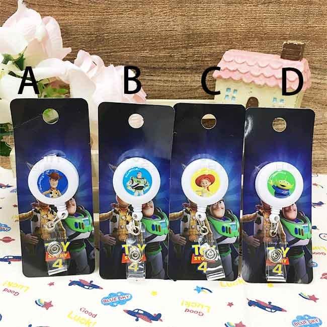 玩具總動員4 伸縮證件扣 四款選 正版授權